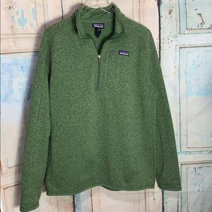 Men's Better Sweater Large ~ Green